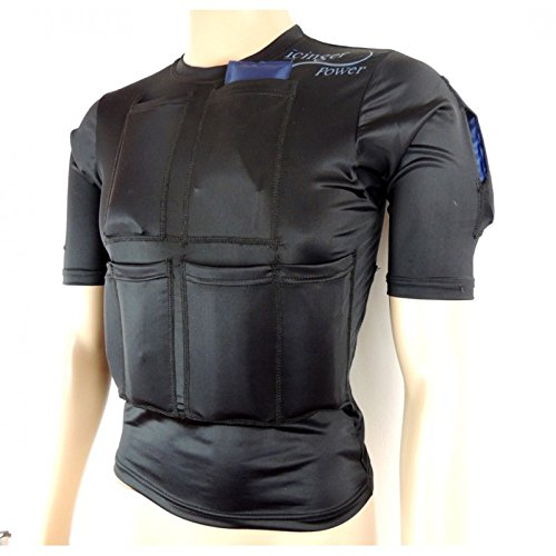 Maglietta Icinger Power cooling per bruciare i grassi in eccesso con il freddo - Packs refrigeranti inclusi - Taglia XL