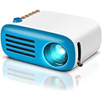 GooDee  Mini Projector, LED Portable Projector Pocket Pico Projector Great Gift for Kids, HD 1080P Supported HDMI Connect to PC Laptop Xmas Gift for Children