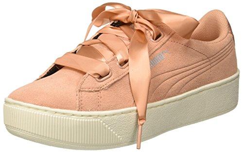 Puma Damen Vikky Platform Ribbon S Sneaker, Pink Dusty Coral 07, 42 EU