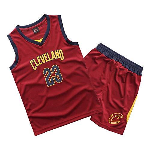 2019 Jungen und Mädchen Jersey Cavaliers Lakers James #23 Bulls Jordan #23 Basketball-Bekleidungssets Tops Und Shorts für Kinder (Höhe 110-165 cm)