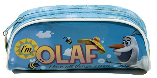 Galleria Farah1970–Olaf Federmäppchen Disney 22x 10–Olaf–Gemacht mit Lizensiert (Galleria Grünen Teppich)