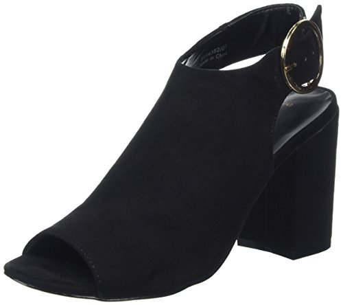New Look - Raspy, Scarpe spuntate Donna Nero (Black)