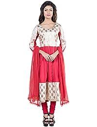 Mamosa Rayon Women's Designer Stylish And Readymade Stitched Party Wear Anarkali Suit/ Salwar Suit/ Long Kurti...