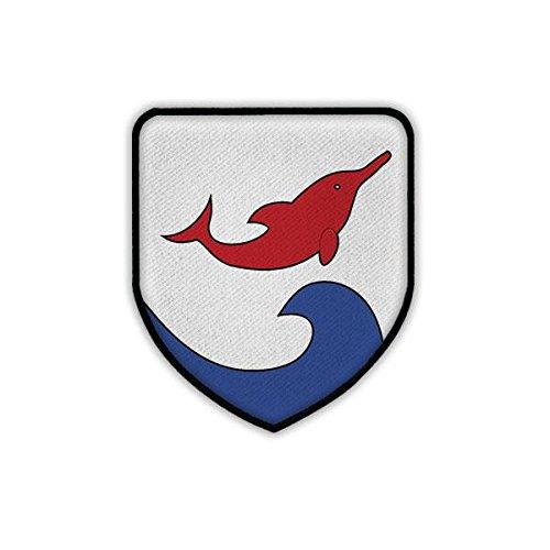 Patch / Aufnäher - Zerstörer Z4 D 178 Bundesmarine Fletcher-Klasse Zerstörergeschwader Deutsche Marine Bundeswehr BW Deutschland Militär Wappen Abzeichen Emblem #19438 -