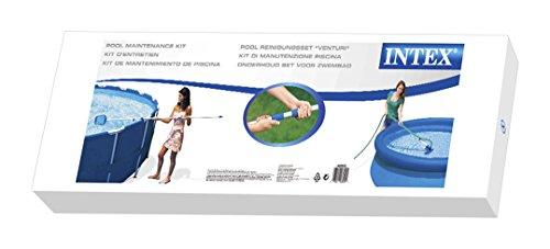 Intex - 58958 - Accessoires Piscines - Kit D'Entretien - Kit Comprenant Les Accessoires De Base Pour L'Entretien De La Piscine