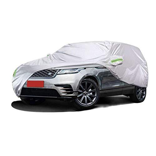 POLKMN Autoabdeckung Wasserdichter Regenstaub Sun UV Allwetter wasserdichter Schutz mit Baumwollreißverschluss (größe : 2019) (Auto-alarm Cabrio Für)