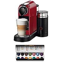 Nespresso XN7605 Citiz & Milk Macchina per Caffè Espresso di Krups, Ciliegio