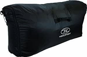 Highlander Transit Housse de protection pour sac à dos Noir