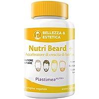 NUTRI BEARD - Accelera, lustra e intensifica la BARBA - IMMANCABILE nella cura virile dell'uomo ! L'unico Acceleratore della barba registrato presso il MINISTERO DELLA SALUTE ITALIANO