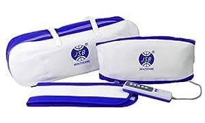 JSB HF10 Massage Belt (White-Blue)