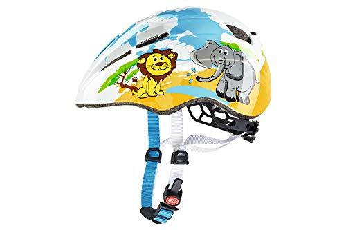 Uvex Kid 2-Desierto Casco de Ciclismo, Unisex bebé, Multicolor, 46-52 cm