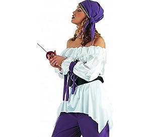 Limit Sport - Camisa de pirata para mujer (CM542)