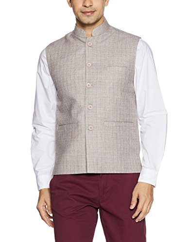 Fort Collins Men's Nehru Jacket (92850a OLFawnXxl)