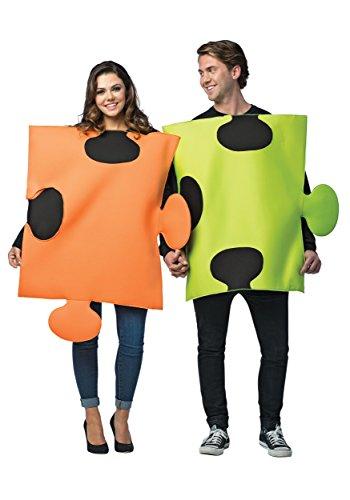 Puzzle Pieces Couple Fancy dress costume Standard
