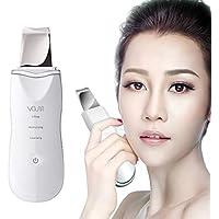 VOUMEY Dispositivo ultrasónico de limpieza de la piel facial Eliminación de la espinilla Máquina de depuración