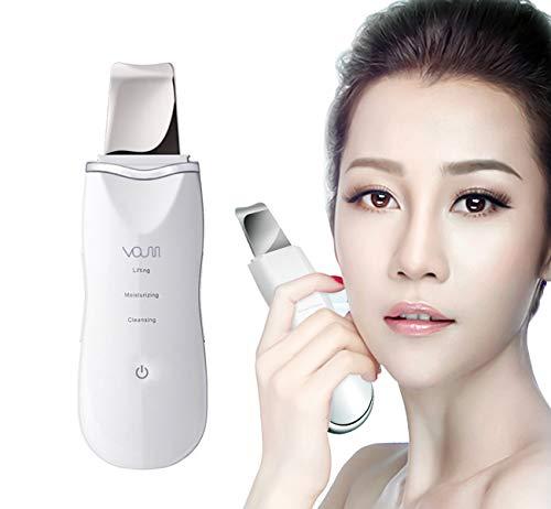 VOUMEY Dispositivo ultrasónico de limpieza de la piel facial Eliminación de la espinilla Máquina...