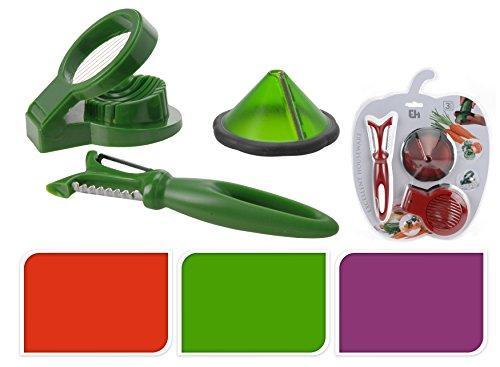 schael-set-di-3-pezzi-in-verde-tagliaverdure-utensili-da-cucina-tagliauova-pelapatate-decorazione-a-