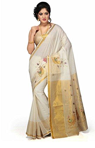 R Selvamani Tex Cotton Saree (Rst51_White)
