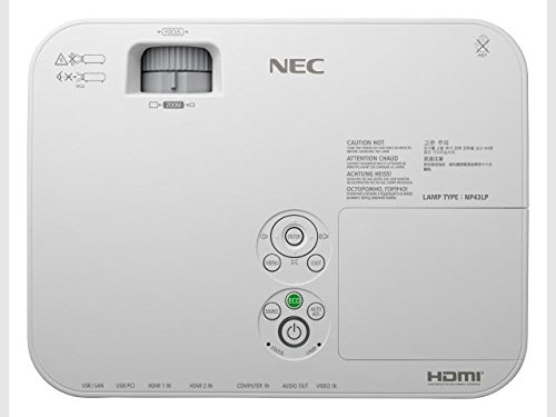 NEC Display ME401W Professional LCD Projector 6000 1 4000 Lumens 1024x768 2 9kg