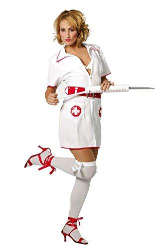 Kostüm Krankenschwester Tag - Damenkostüm Krankenschwester, Gr. 46
