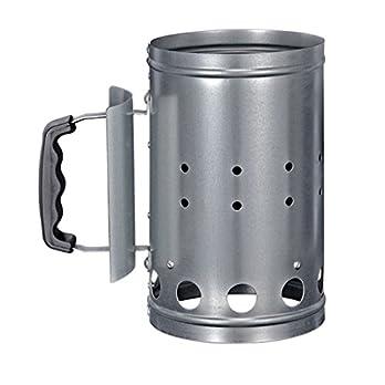 Hi 60061 Grill Kohleanznder Aus Metall Silber 1 Stck