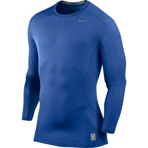 Nike Core Fitted LS Top 1.2 - Royal - X-Large 449788-495-XL (T-shirt Center Fitted)