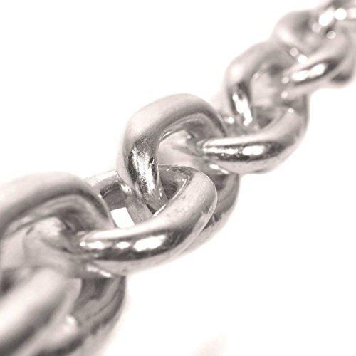 Seilwerk STANKE 5m 3mm RUNDSTAHLKETTE langgliedrig verzinkt Stahlkette -- DIN Eisenkette Stahl Eisen Kette abgerundet