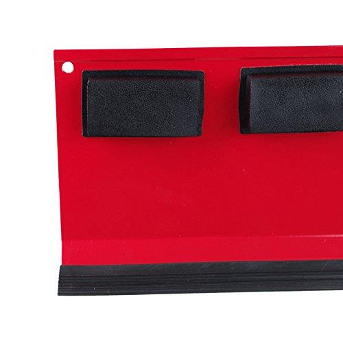 Werkzeugablage magnetisch 31×11,5cm rot Metall Ablage Zubehör Werkstattwagen - 4