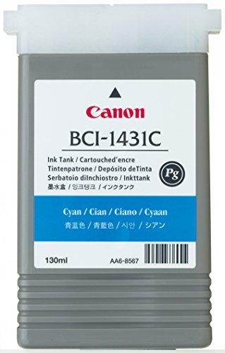 Canon BCI 1431C Cartouche d'encre d'origine 1 x cyan
