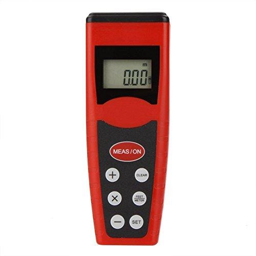 Sothat Handheld CP -3000 Ultraschall- Entfernungsmesser Vermesser Entfernungsmesser w/Point & LCD -Hintergrundbeleuchtung