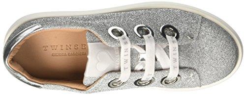 Twin-Set Cs7ph1, Sneakers basses femme Argent