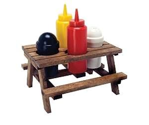 Echtholz-Menage - Picnic Table