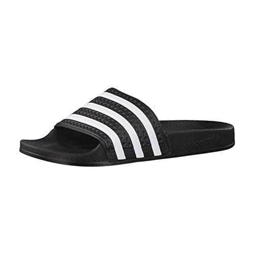 Adidas Adilette-Sandali da donna unisex adulto nero Size: 36 2/3