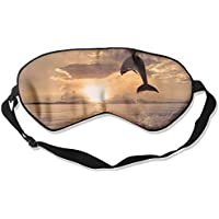 Eye Mask Eyeshade Dolphin Jumping Sleeping Mask Blindfold Eyepatch Adjustable Head Strap preisvergleich bei billige-tabletten.eu