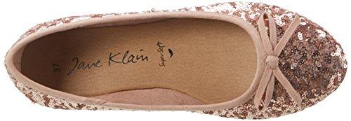 Jane Klain 221 993, Ballerine Donna Pink (ROSEGOLD)