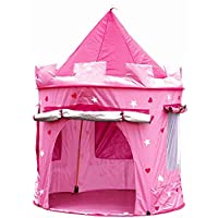 Kiddus Play Tent for GIRLS kids children toddler. Pop Up, foldable, indoor & outdoor