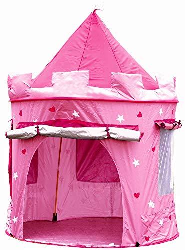 Kiddus Tienda casa casita Carpa campaña para niñas de Tela Lona Castillo Princesa, Pop UP Plegable...