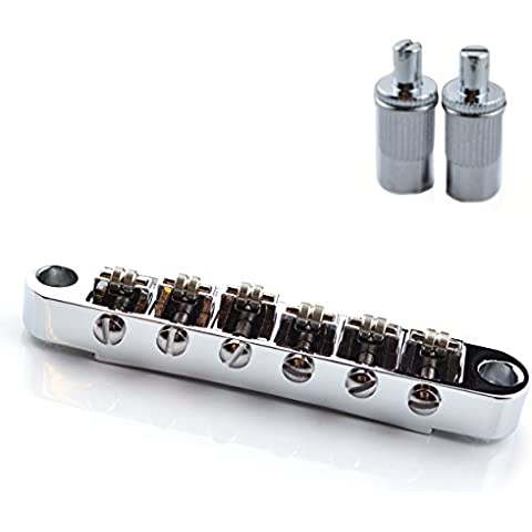 Ponte Tune-O-Matic per Epiphone Gibson Les Paul SG/Guitars, Cromo