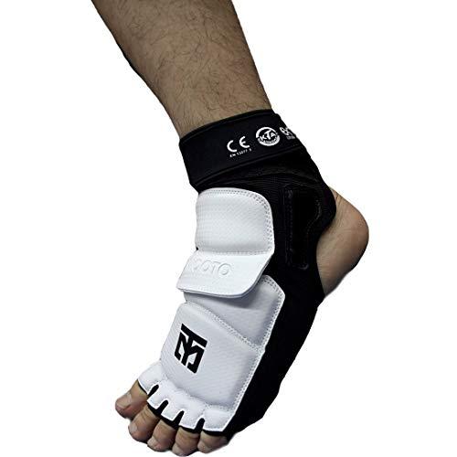 Mooto Taekwondo Extera Schutz Fuß s2 kta Genehmigt Kampfsportarten MMA Kick-Boxen (4.M)
