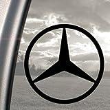 Mercedes Benz classe C E S - Adesivo per finestrino camion, nero