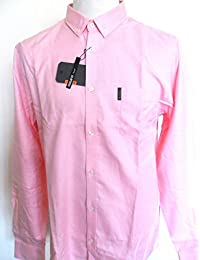 Ben Sherman Men's MA00004 Charles Oxford Regular Fit Button Down Long Sleeve Casual Shirt Pink (Large)