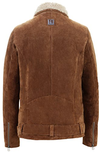 Freaky Nation Damen Jacke Holly Braun (Cognac/Birch 8072)
