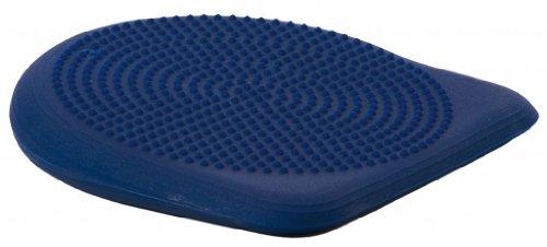 Preisvergleich Produktbild Dynair Keil-Ballkissen Plus / Ballkissen in Keilform / Maße: ca. 45 x 45 cm / Belastbarkeit: bis ca. 300 kg / Material: Ruton / blau