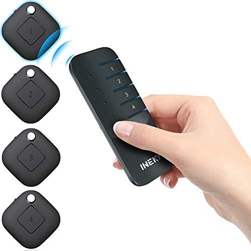 INEKY Schlüsselfinder - Das Original - Premium Design-Edition Key Finder - Praktischer Schlüsselanhänger Zum Finden und Tracken von Gegenständen - Handyfinder Schlüsselsucher