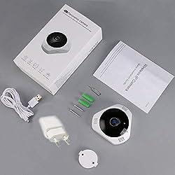 360-Grad-Panorama-drahtlose IP-Kamera Bewegungserkennung Nachtsicht Indoor Outdoor-Sicherheitssystem für Baby-Haustier Elder