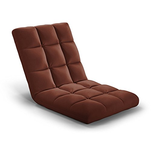 Tiantian-sofa T-T-H Sofá Cama Perezoso Silla Creativa sin Patas Silla Plegable Individual...