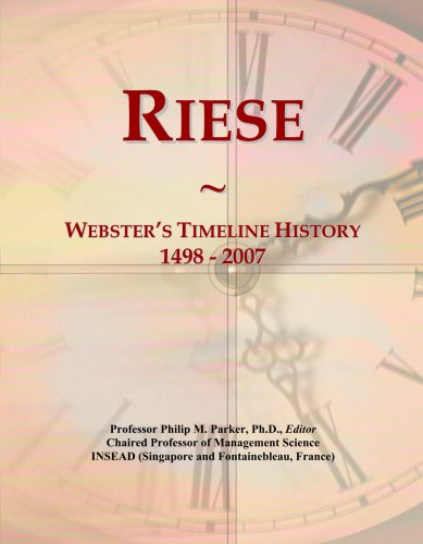 riese-websters-timeline-history-1498-2007