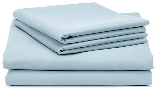-[ AmazonBasics Microfibre Duvet Cover Set – 200 x 200 cm, Dark Grey  ]-