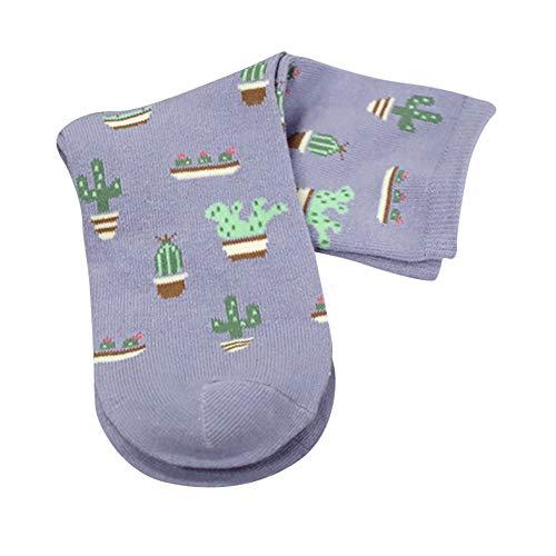 (TEBAISE Damen Socken Baumwolle Thermal komfortable Mädchen Socken Malerei Cartoon Süße Lustige Nette Lässige Frauen Socken)