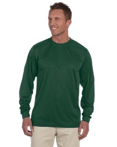 Augusta Sportswear Wicking Longsleeve T-Shirt XL dunkelgrün